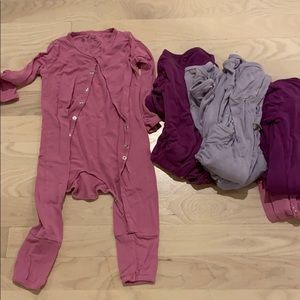 6 girls Kyte Baby sleep outfits. 12-18 month.